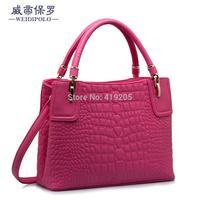 Authentic European and American trends handbags crocodile star leisure single shoulder diagonal hand factory direct