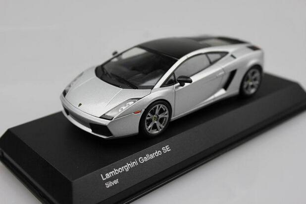 Kyosho 1/43 Gallardo SE Sliver Die-casts metal car models(China (Mainland))