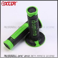 """2015 NEW! 7/8"""" handle BAR grips Rubber W/ BAR MX End For Dirt pit bike Motorcycle scooter use"""