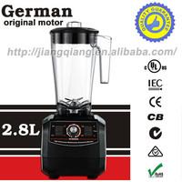 Free shipping  super high quality German motor technology 2200W kitchen blender 2.8L