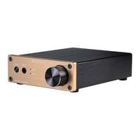 SMSL SA-60 60W*2 TPA3116 Big Power Digital HiFi Amplifier+SMSL Power Supply  gold color