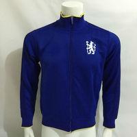 n98 the chel  blues Soccer Sports jacket  Blue Lion training raglan jackets lampard oscar torres perigo willian