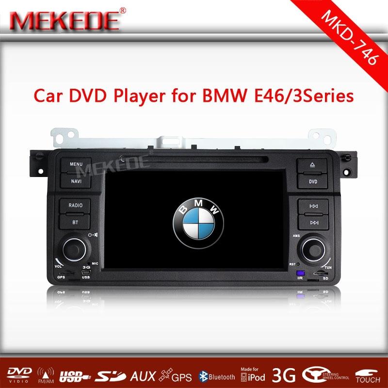 2015 CPU MTK 800MHZ Dual Core Car radio stereo for E46 M3 318i 320i 325i 328i with DVD GPS Radio USB 3G host audio video 3G(China (Mainland))