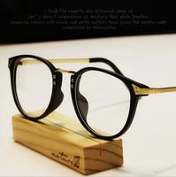 2015 New Glasses Frame Eyeglasses Spectacles Brand Designer Women/Men Retro Metal Optical Myopia Frame Glasses Eyewear Oculos