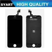 Free DHL Shipping 20pcs/lot Black and White Color LCD Display Touch Screen Digitizer+ LCD + Frame LCD Assembly For iPhone 5gs 5s