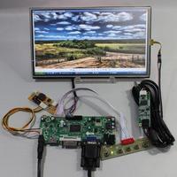 HDMI+DVI+VGA+Audio Lcd controller board+C 1366*768 N101BCG-L21 lcd+Touch