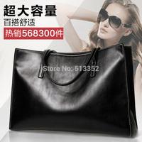 Free shipping 2015 new European and American fashion handbags handbag shoulder bag large capacity