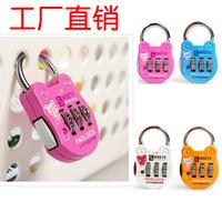 password codes padlock for luggage zipper bag handbag suitcase security travel lock   2pcs/lot  PL16