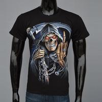 Man 3 D Death Skulls Series Personality Cotton T-shirt Man 3 D T-shirt T-shirt Men Men Clothes Patins
