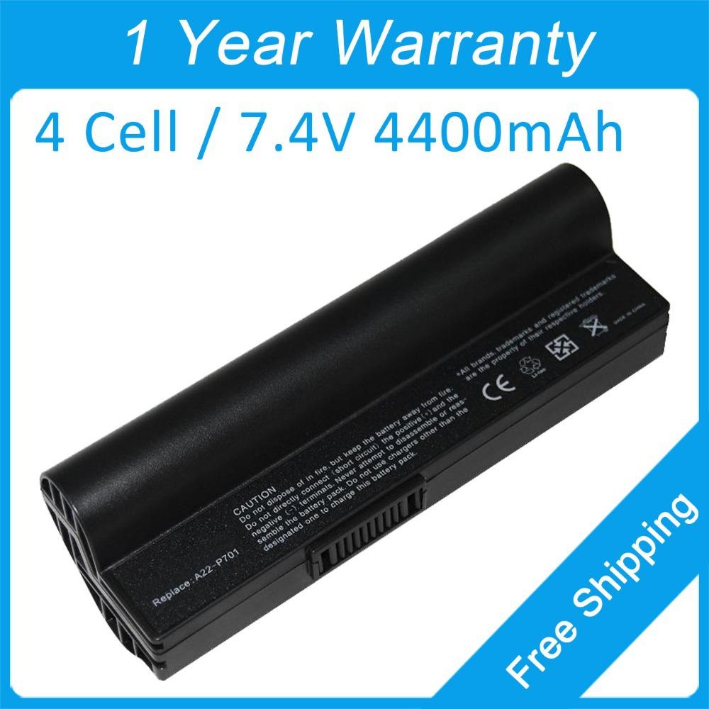 New 4400mah laptop battery A22-P701 A24-P701 A22-P700 A23-P701 for asus Eee PC 900 701 700 2G 4G 8G Linux(China (Mainland))