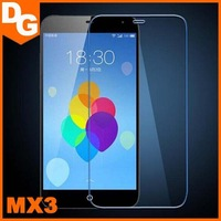 Free Shipping 0.3 mm HD Clear Tempered Glass Screen Protector For Meizu MX3 Android Smartphone