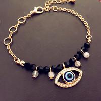 6pcs/lot  2015 new accessories evil eye hamsa hand bracelet
