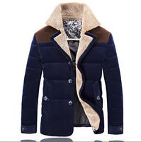 UDOD Winter Brand Men Down Blazers Winter Parka Men Down Duck Coat 90% White Down Warm Overcoat Outwear M L XL XXL XXXL EBYR007