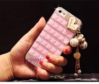 Luxury Love Heart Bling Rhinestone Diamond Case Cover For iPhone 5 5S