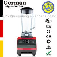 Free shipping German motor technology 2L 2200W Red Multi-function commercial blender blender juicer blender food processor G5200