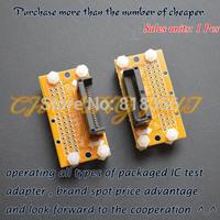 SSOP8--SSOP42 test socket  Pitch=1.0mm SSOP IC TEST SOCKET Width can be adjusted freely without restriction