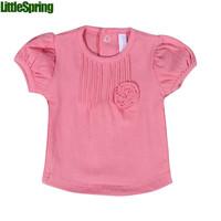 Baby's clothing girls flower t-shirts Summer  short-sleeved t-shirt girls t-shirts infants clothes girls clothing next girls