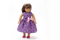 "Free shipping!!! hot 2014 new style Popular 18"" American girl doll clothes/dress Christmas gift B212"
