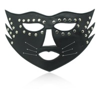 Leather Sex mask nails Adult Games Sex Toys Dance mask free shipping