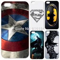 New Style batman Classical popular movie logo dark model Plastic material phone case for iphone 5 5s