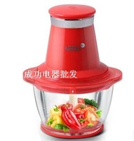 Multifunctional electric meat mixer minced meat Bao 1.2Lhousehold electric mashedgarlicmachine baby food supplement food machine