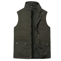 2015 Men vest sleeveless jacket undershirt coat fishing vest brand waistcoat tactical vest military plus size 5XL 6XL Free ship