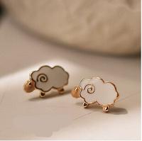 Fashion Cute Sheep Earrings Like Flower Earrings animal Earrings For Women