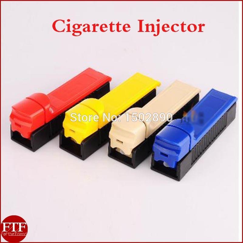 70MM Manual Single Tube Tobacco Roller Cigarette Injector Maker DIY Machine(China (Mainland))