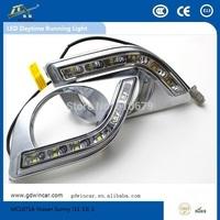 Factory Super bightness 12V  led light Top quality led car drl for Nissan Sunny Led Daytime Running Light
