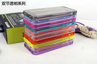 10pcs/lot New Style Ultra Thin Crystal Cover for Apple iPhone 5S silicone case for iphone 5 Transparent Shell Capa