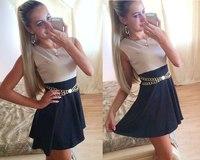 women dress 2015 new fashion office dress casual long dresses