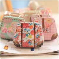 2015 NEW!6pcs/lot Lovely Handbag Shape Metal Storage Box Fashion Design Tin Storage Case Coin Saver Wedding Candy Box Mix design