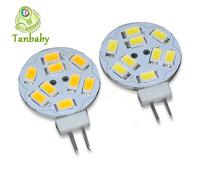 Tanbaby 20pcs/lot AC/DC12V G4 led lighting lamp 3W white or warm white led spotlight  Candle crystal chandelier lighting