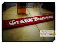 New Grand Marnier Bar Mats Soft PVC bar Runne/Drip Mat  for Pub bar,Home Decoration-  1pc/lot size 600x 90x12mm BAT-15