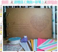 Diy photo album handmade photo album baby 10 photo album