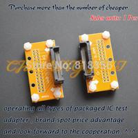 SSOP8-SSOP54 test socket Pitch=0.8mm SSOP IC TEST SOCKET Width can be adjusted freely without restriction