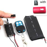 Wireless Mini Module Board Camera Video DV HD Hidden Micro Secret DVR Recorder Operated By Remote Control with 16GB TF card