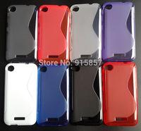 s line case For HTC Desire 320,soft s line matte silicone gel tpu cover case,1pcs