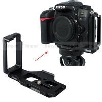 Removable Metal L-shaped Vertical Quick Release Plate/Camera Holder Bracket Grip for Nikon D7100 D7000 Tripod Ball Head HOT ITEM