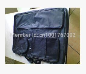 Free shipping Fashion portable multi-function 4K easel bags art supplies graphics drawing art set school tool bag sketchpad bags(China (Mainland))