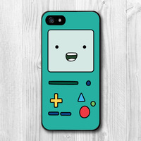 Beemo Adventure Time BMO Cartoon Cover Plastic Case For Samsung Galaxy S5 S4 S3 with S4 Mini S3 Mini with Note 4 3 2 Phone Cases