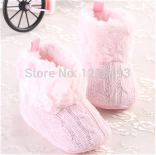 Bebê Prewalker sapatos de bebê botas de inverno quente de lã de malha de algodão meninas sapatinho aquecimento sapatos crianças engatinhar sapatos Bebe Infantil sapatos(China (Mainland))