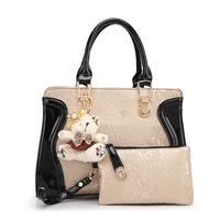BRIGGS Brand Bag Famous Brand Designer Handbags PU Leather Shoulder Bag Women Leather Handbag Clutch Bag