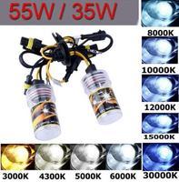 2pcs  Xenon HID Replacement car headlights Bulbs Lamp 55W 12V H7 10000K New
