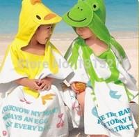 9 Designs Hooded Animal modeling Baby Bathrobe/Cartoon Baby Towel Character kids bath robe infant bath towels