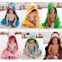 MMST boys girls infant cotton bath towel baby bathrobe Bath phi Baby wrap blanket 6214