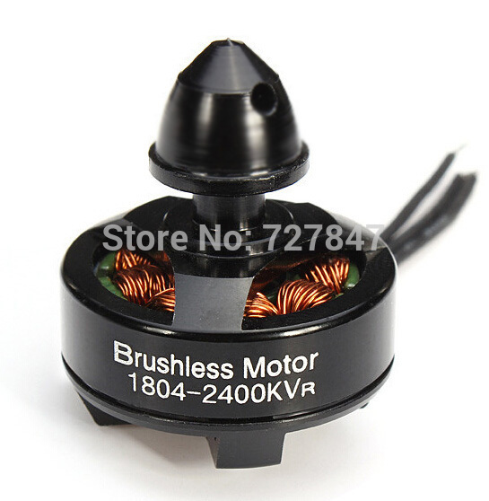 ZMR Brushless CCW Motor 1804 2400KV Micro Size Integration Outrunner Brushless Motor For 240 250 Multicopter(China (Mainland))