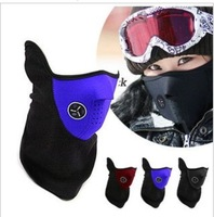 New Thermal Neck warmers Fleece Balaclavas CS Hat Headgear Winter Skiing Ear Windproof Warm Face Mask Motorcycle Bicycle Scarf