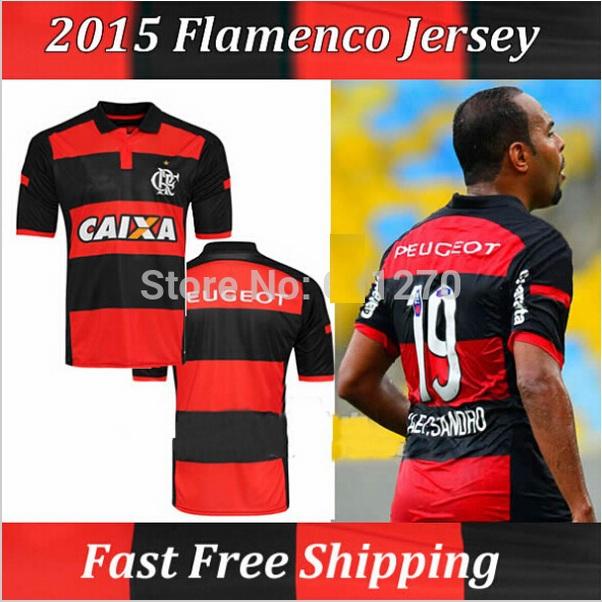 Brazil Flemish camisa cruzeiro Football Soccer Clube de Regatas do 2014 Flamengo Jersey 14 15 Black Thai Futbol Uniforms R026(China (Mainland))