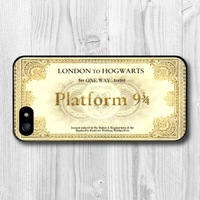 Harry Potter Platform Hogwarts Express Train Ticket Case For Samsung Galaxy S5 S4 S3 with S4 Mini S3 Mini with Note 4 3 2